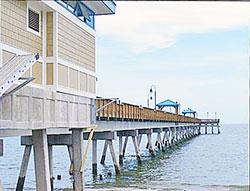 Hampton virginia beach vacation rentals for Buckroe beach fishing pier
